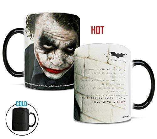 Batman: The Dark Knight Joker - Man With A Plan Morphing Mugs Heat Sensitive Mug MMUG387