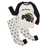 Pajamas for Boys Car Cotton Pjs Long Sleeve Sets Kids Christmas Sleepwear 7t
