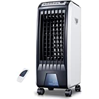 AIRZEIMIN Portable mini air conditioner,Evaporative coolers with dehumidifier and fan Humidify cooler fan for summer 4 caster wheels-A