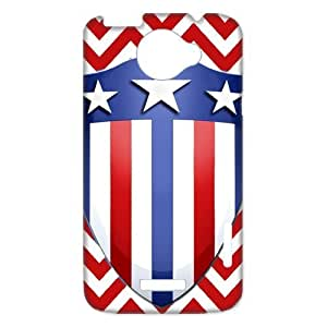 Cool Captain Shield Like Flag Hard Case Cover for H One X