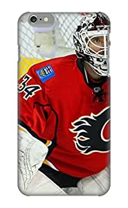 Anettewixom Perfect Tpu Case For Iphone 6 Plus/ Anti-scratch Protector Case (calgary Flames Nhl Hockey 6)