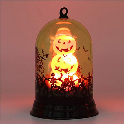 (Clearance!!! Glumes Halloween Light, LED Black Cat Pumpkin Candle Lamp Decoration Christmas Home Decor Jack-O-Lantern Night Decorations Props in Best Gift|American Warehouse Shipment FAST)