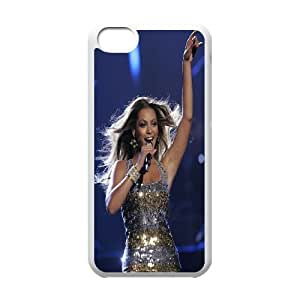 Custom Case Beyonce Knowles For iPhone 5C M7Z4Q3268
