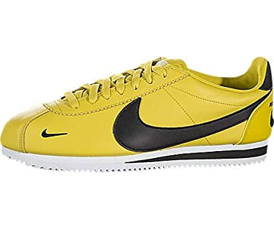 reputable site a9465 29dec Nike Classic Cortez Premium, Bright Citron   Black-white, 8