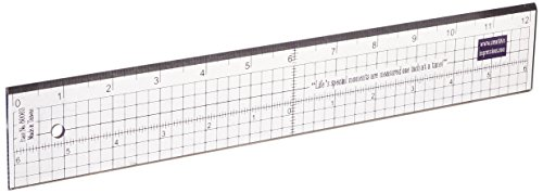 - Creative Impressions Metal Edge Acrylic Ruler 12 Inch (80003)