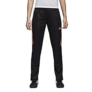 adidas Womens Tiro17 TRG Pant, Black/Chalk Coral, Medium