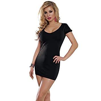 Lady Sexy Club Stage Outfit Sexy Lingerie Deep V Big Nude Back Release Your Beauty,