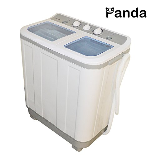 Panda Small Compact Portable Washing Machine(10lbs Capacity) XPB45 -Larger Size