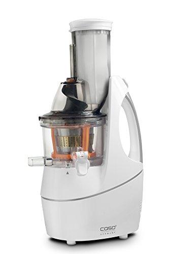 CASO SJW400 Design Entsafter, Slow Juicer für schonendes und sanftes entsaften von Obst, Gemüse und Kräutern, BPA frei