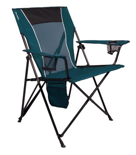 Kijaro Dual Lock Folding Chair (Cayman Blue Iguana), Outdoor Stuffs