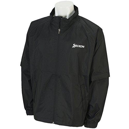 DUNLOP(ダンロップ) SRIXON レインジャケット メンズ SMR6001J ブラック L