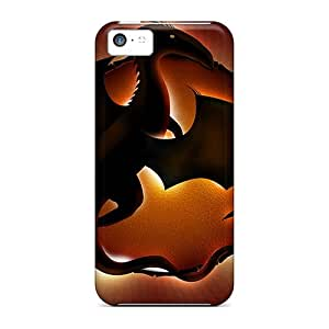 ChrismaWhilten Fashion Protective Illuminated Dragon Hdtv 1080 P Cases Covers For Iphone 5c