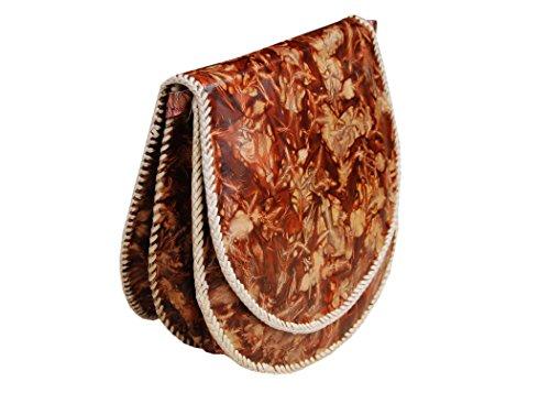 Borsa spalla del cuoio genuino, la borsa, sacco per cadaveri trasversale per le donne, signore, ragazze - a mano