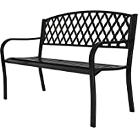 Generic D3819CK 4 ft. Metal Park Bench