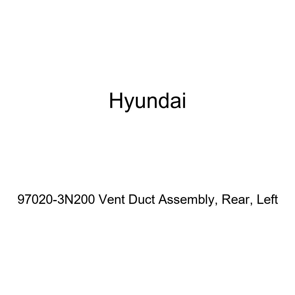 Genuine Hyundai 97020-3N200 Vent Duct Assembly Left Rear