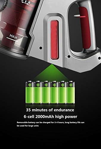 CNMGB Aspirateur 2-en-1 léger Vertical et à Main Tension nominale 21,6 V Bruit inférieur à <75 DB Diverses têtes de Brosse et Accessoires