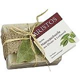 ARISTOS Haarwaschseife aus Olivenöl und Lorbeeröl | vegane Seife für die Haare | kunsstofffrei verpackt | Griechenland (1x 100g)