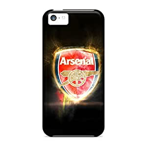 Iphone 5c MoP12436pTqw Support Personal Customs Vivid Arsenal Pictures Protector Hard Phone Case -TimeaJoyce