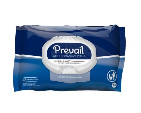 Prevail Pull (Prevail Adult Washcloths Soft Pack, 48 Count Pack)