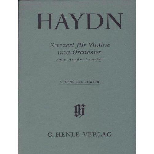 Haydn Franz Joseph Concerto in A Major Hob. VIIa:3 Violin and Piano by Gunter Thomas Heinz Lohmann
