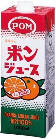 POM ポンジュース 1000ml×6本【入り数3】