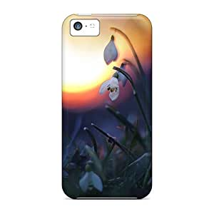 Tough Iphone HGa16051hida Cases Covers/ Cases For Iphone 5c(orchid)