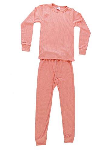 Love Thermal Underwear Set for Girls (Little Girls Long Underwear)
