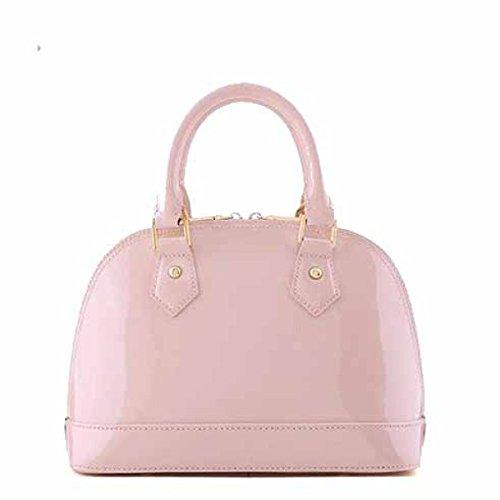 Pink Pacchetto Femminile Spalla Messenger pink Haoxiaozi Pelle Tracolla In Borsa Verniciata vnaHxH