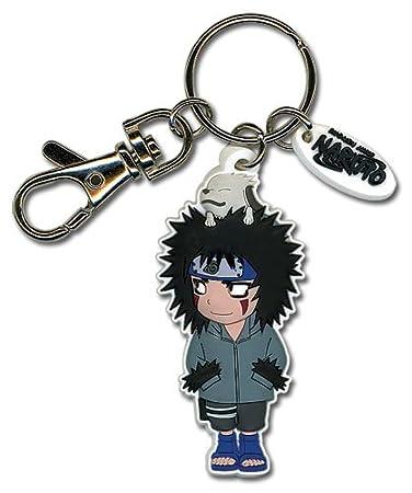 Amazon.com: Naruto Kiba y Akamaru PVC Llavero: Office Products