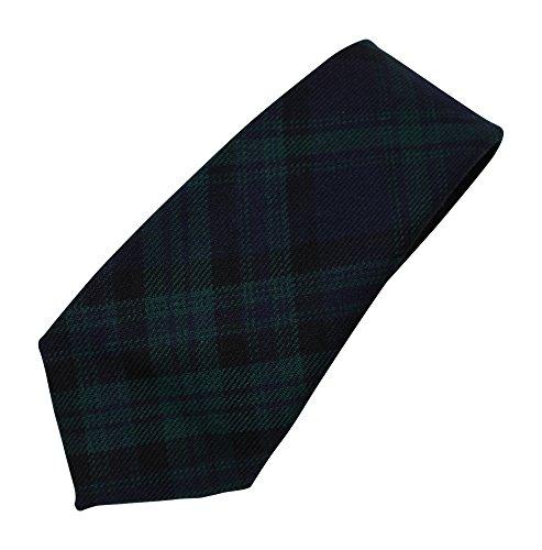 100% Wool Authentic Traditional Scottish Tartan Neck Tie - Mathieson Hunting Modern