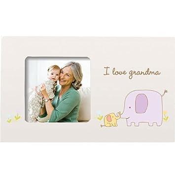 Amazon.com: i love grandma frame by Pearhead: Baby