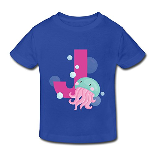 AOPO Cute Cartoon Animal Tshirts For Toddlers Unisex (2-6 Years) 5-6 Toddler RoyalBlue