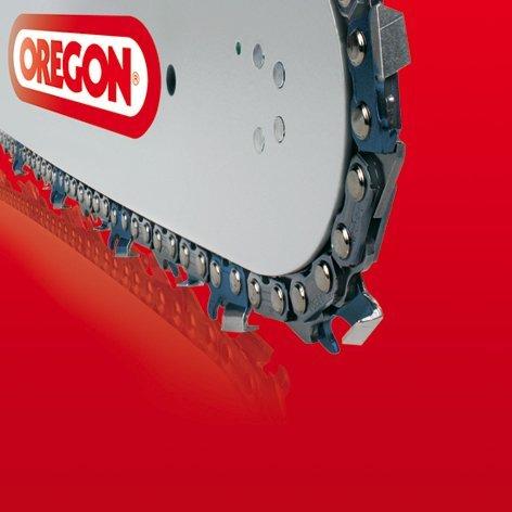 Cadena para motosierra con 68 eslabones motrices 1.6 mm Oregon Type 22 LPX modelo Super 20 con cortadores chisel calibre 0.63 paso 325