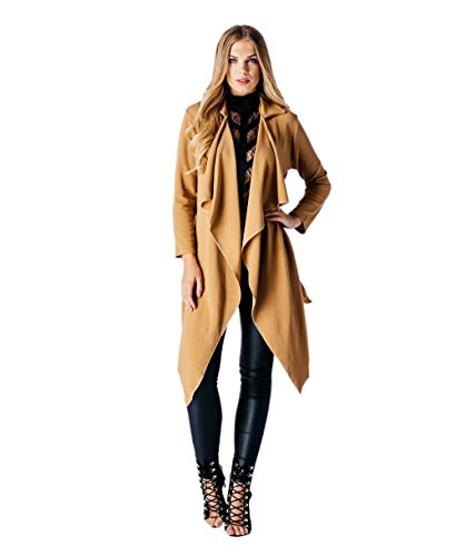 Loomiloo - Abrigo - para mujer Beige