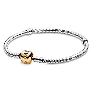 PANDORA Moments Bracelet with Rose Clasp