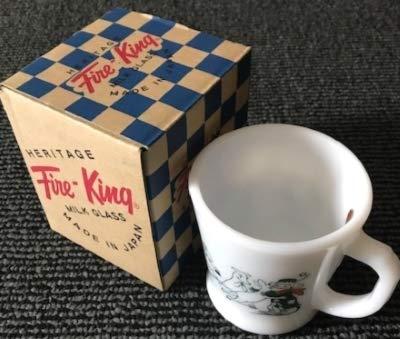 貴重無料☆ムーミン ファイヤーキングマグ マグカップ ムーミン マーケット限定 Fire-King B07RTKZZXL