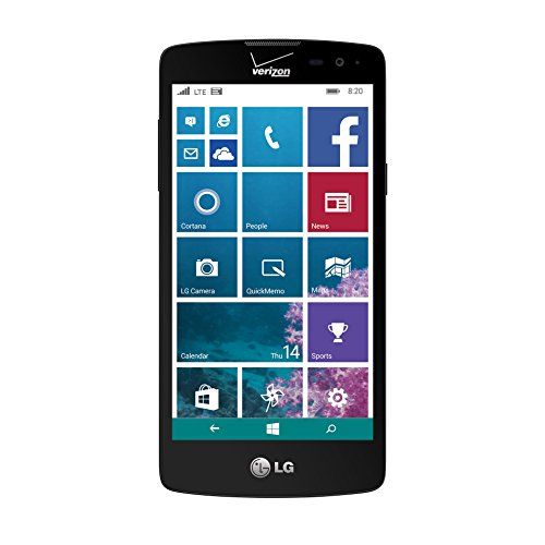 (LG Lancet - VW820 - 8GB Windows Smartphone - Verizon - Black and Blue (Certified Refurbished))