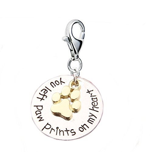 (Loss of Pet Memorial Charm Dog Cat
