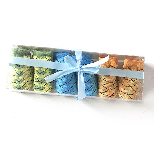 Stylish Socks Sets (Pastel Argyle) (Argyle Lace)