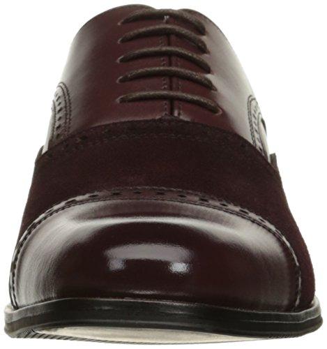 Stacy Adams Heren Sedgwick Cap-toe Oxford Shoe Oxblood