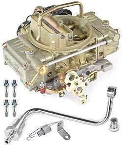 Holley 0-90670 Model 4150 Truck Avenger 670 CFM Square Bore 4-Barrel Vacuum Secondary Electric Choke Carburetor (Bore 4 Barrel Vacuum Secondary)