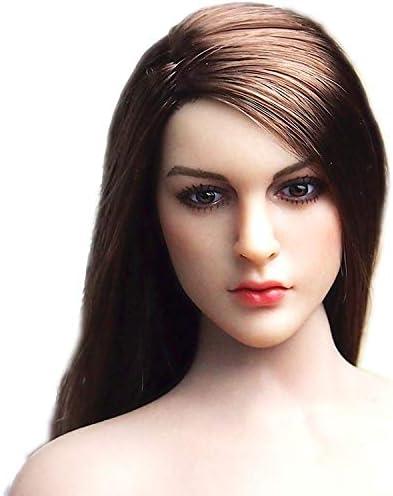"1//6 Female Head Sculpt Short Hair YMT027 D For 12/"" TBLeague Female Figure USA"