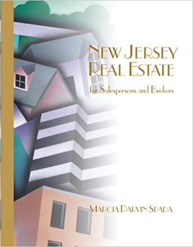 Book New Jersey Real Estate for Sales/Brokers (with New Jersey License Act)