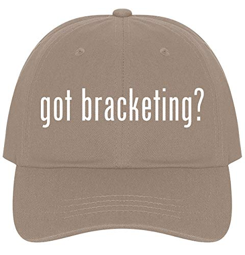 The Town Butler got Bracketing? - A Nice Comfortable Adjustable Dad Hat Cap, Khaki