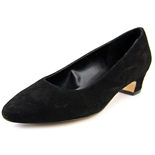 Vaneli Women's Astyr Black Suede Pump 9 N (AA) (Mules Vaneli Leather)