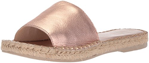 Dolce Vita Women's Bobbi Slide Sandal, Rose Gold Leather, 8.5 M US