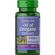 Puritans Pride Oil of Oregano Extract, 1.5 Gram