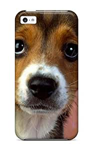 LJF phone case Fashionable IHHGGmA5186GMcIa iphone 6 4.7 inch Case Cover For Puppy Eyes Beagle Protective Case