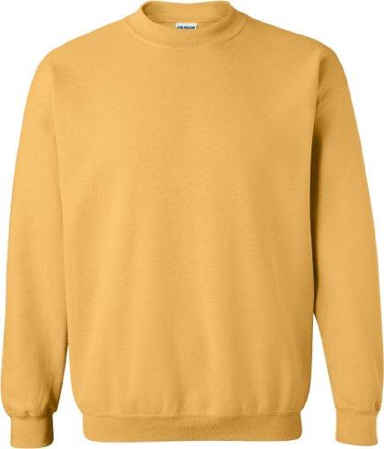 Gildan Adult Heavy BlendTM Crewneck Sweatshirt 18000 - Honey_2XL