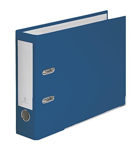 (Bindertek 2-Ring 3-Inch Premium Top File Binders, For Top-Punched Paper, Navy (TFN-NV))